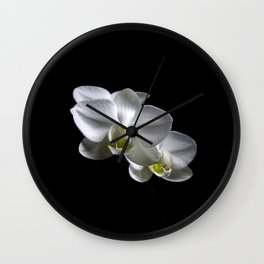 Low key orchids... Wall Clock