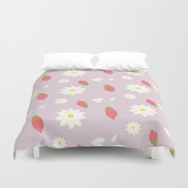 Wolfberry Chamomile  Duvet Cover