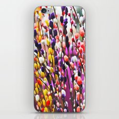 Abstract Pussy Willows iPhone & iPod Skin