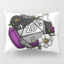 Pride Asexual D20 Tabletop RPG Gaming Dice Pillow Sham