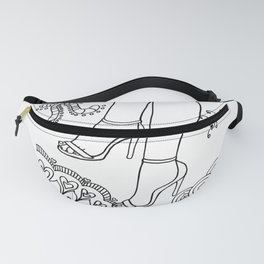 foot fetish stilettos lasoffittadiste Fanny Pack