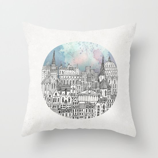 Abandoned Factories Throw Pillow