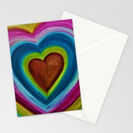 EXPANDING HEART Stationery Cards