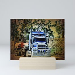 Heavy Duty Hauling Mini Art Print