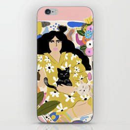 Life with cats iPhone Skin