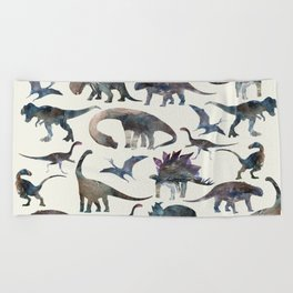 Dinosaurs Pattern Beach Towel