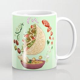 Falafel Mandala Coffee Mug
