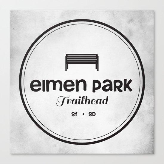 Elmen Park Trailhead Canvas Print