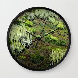 Cactus land Wall Clock