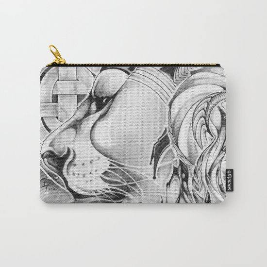 King of Roses Carry-All Pouch