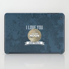 To The Moon iPad Case