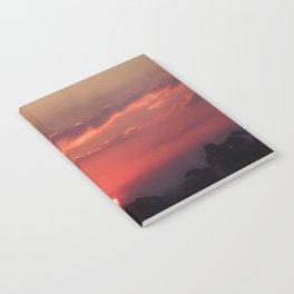Sweet Pink Orange Sunset Notebook