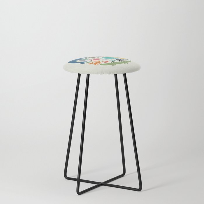 We Are One Counter Stool