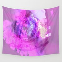 minerals Wall Tapestries featuring The Taste of Minerals  by Dull Work