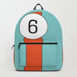 racing stripe .. #6 Backpack