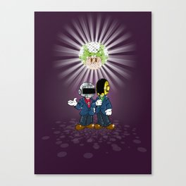 Daft Plumbers Canvas Print