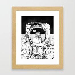 Astronaut 02 Framed Art Print