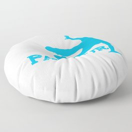 Awesome Retro Parkour Gift Product Freerunning Design Floor Pillow