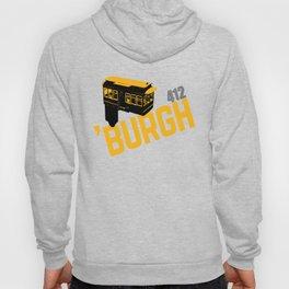 Pittsburgh 'Burgh Incline 412 Print Hoody