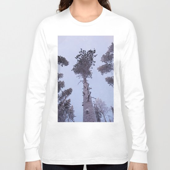 Snow Trees Please Long Sleeve T-shirt