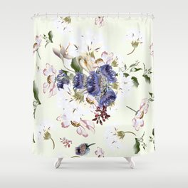 Morning field. Fresh and beauitful Shower Curtain