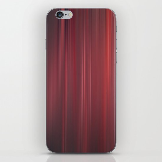 red strings iPhone & iPod Skin