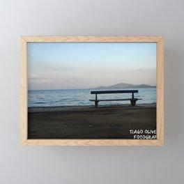 Fim de Tarde Framed Mini Art Print