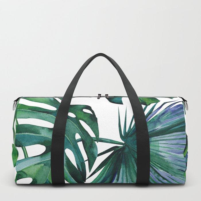 Tropical Palm Leaves Classic II Duffle Bag