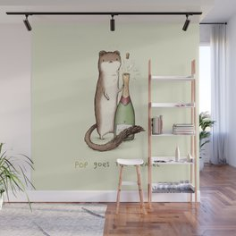 Pop Goes the Weasel Wall Mural