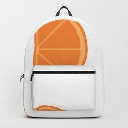 orange integral Backpack