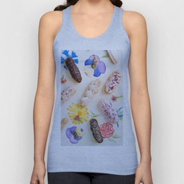 Eclairs with toppings Unisex Tank Top