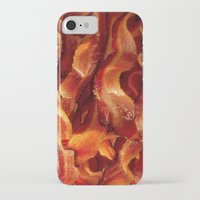 bacon iPhone & iPod Cases featuring Bacon by Grixxly