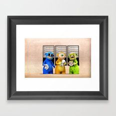 The Usual Suspects Framed Art Print