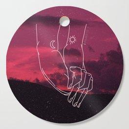 Lovers Cutting Board