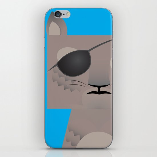 Deadly Squirrel iPhone & iPod Skin