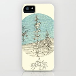 A forest iPhone Case