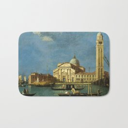 Venice - S. Pietro in Castello by Canaletto Bath Mat