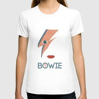 bowie T-shirts featuring Bowie by MajorTom