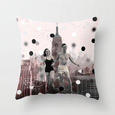 let's go shopping Throw Pillow
