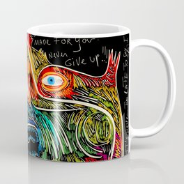 Hold on to your dreams Street Art Graffiti Coffee Mug