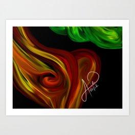 Arbol 005 Art Print