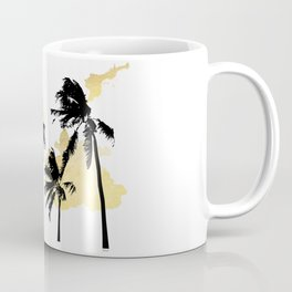 Palm Trees in Moorea Coffee Mug