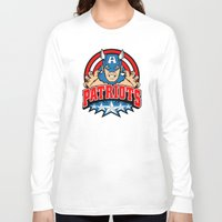 patriots Long Sleeve T-shirts featuring Patriots by Buby87