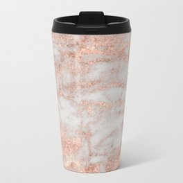 Martino rose gold marble Travel Mug