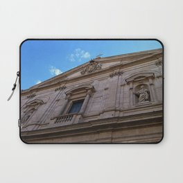 Upward Cross, Chiesa di San Luigi dei francesi Laptop Sleeve
