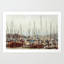 On The Bay | San Francisco Art Print