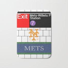 NYC Mets Subway Bath Mat