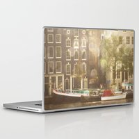 amsterdam Laptop & iPad Skins featuring Amsterdam by Cassia Beck
