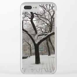 Union Square Park NYC Clear iPhone Case