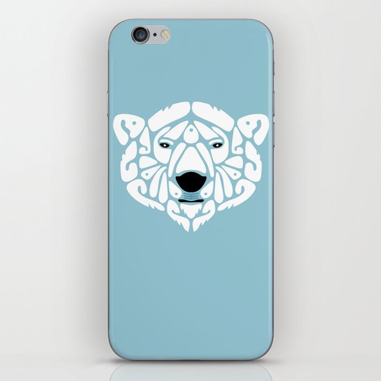 An Béar Bán (The White Bear) iPhone & iPod Skin